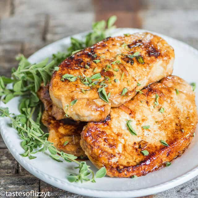 Honey Oregano Pork Chops