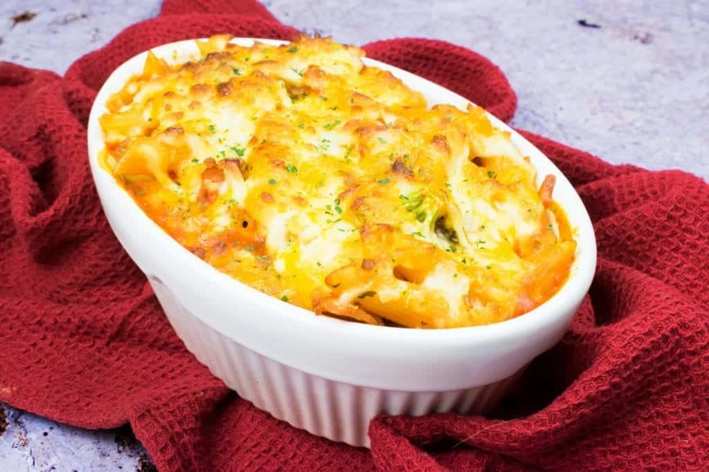 Individual Bacon & Broccoli Pasta Bake